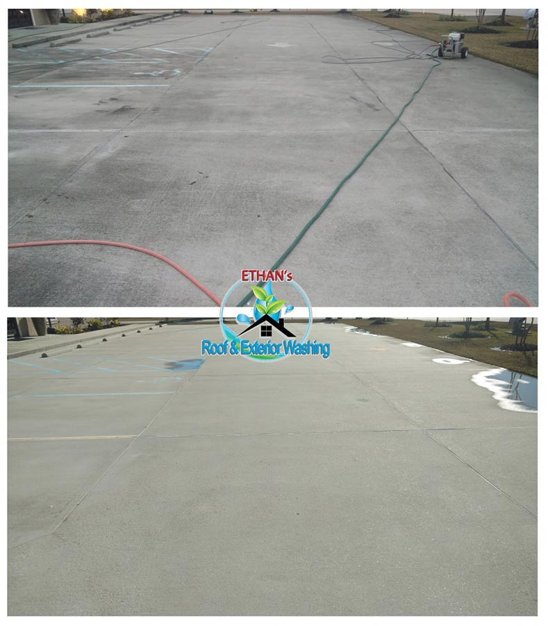 Concrete Pressure Wash Services
