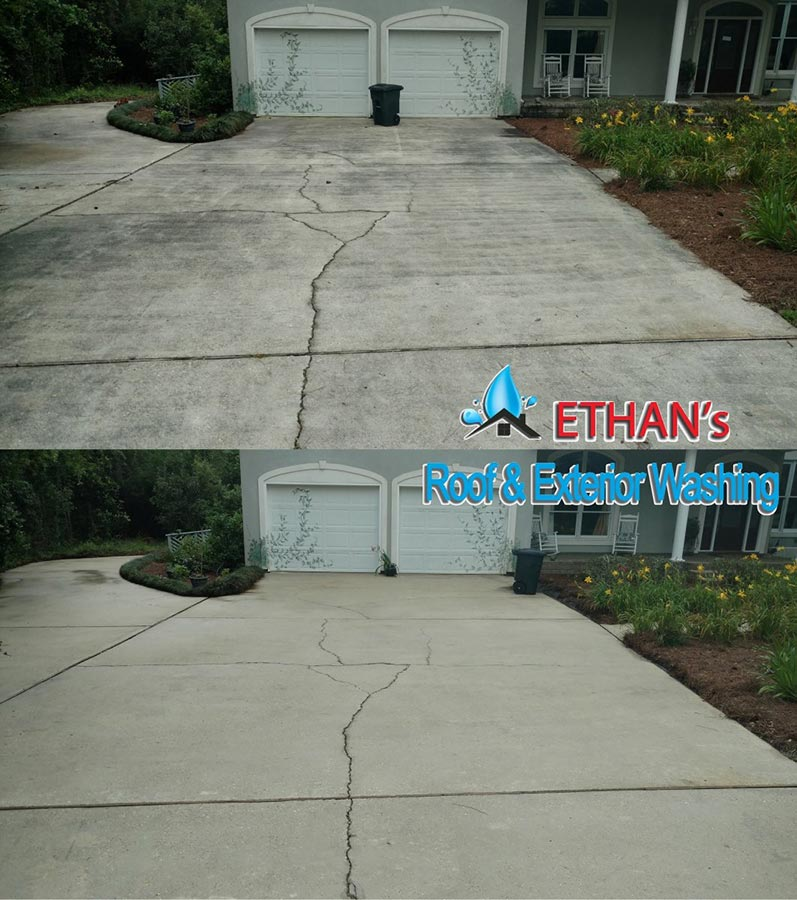 Driveway Power Wash Services