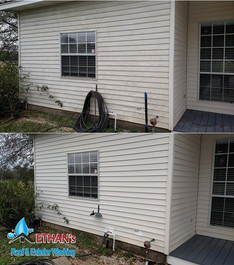 Siding Pressure Wash Services